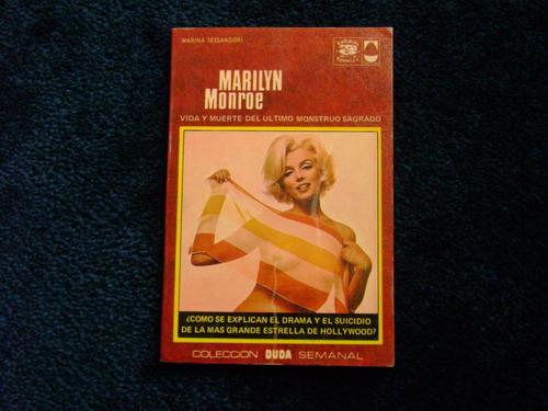 marilyn monroe vida y muerte coleccion duda libro