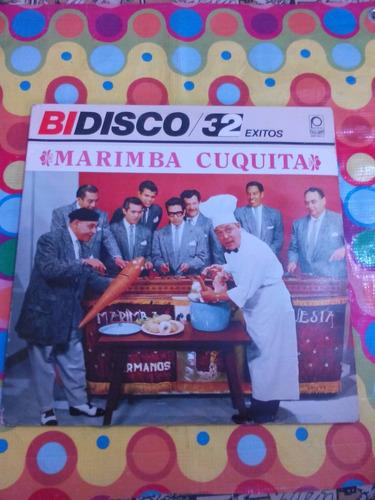 marimba cuquita lp 1984 32 exitos album doble
