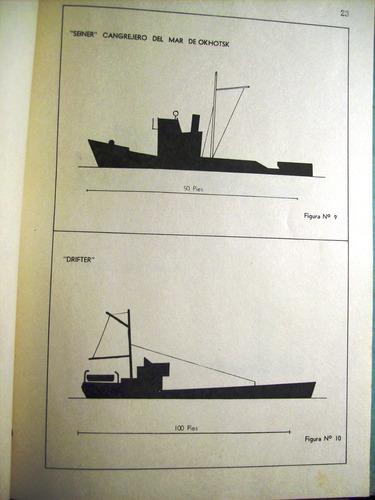 marina argentina buques pesqueros estructura equipos 1964