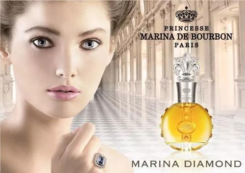 marina de bourbon royal diamond decant amostra 5ml original