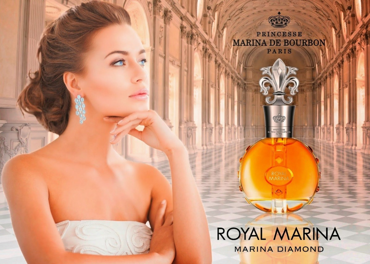 Marina De Bourbon Royal Intense Eau Parfum 100ml Original R Mafia Carregando Zoom