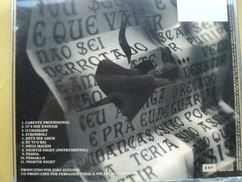 marina lima- cd o chamado- 1993- original- semi novo!