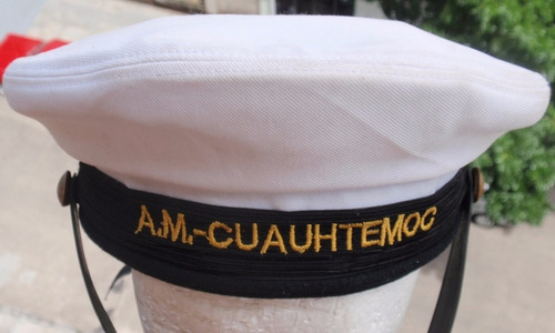 marina mexico buque escuela ship cuauhtemoc sailor hat gorra
