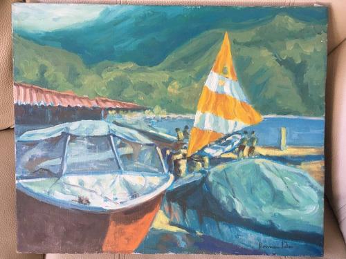 marina -  norman salas - 40 x 50 cm