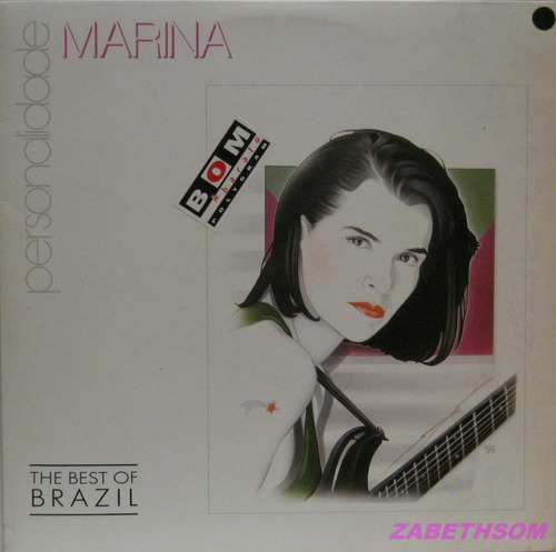 marina - personalidade - the best of brazil lp philips 1991