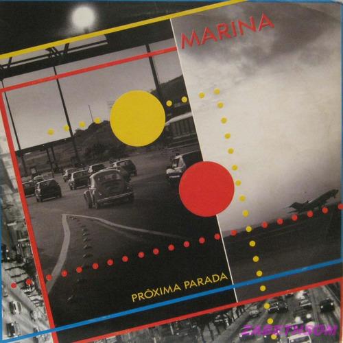 marina - proxima parada - philips - lp vinil 1989 c/encarte