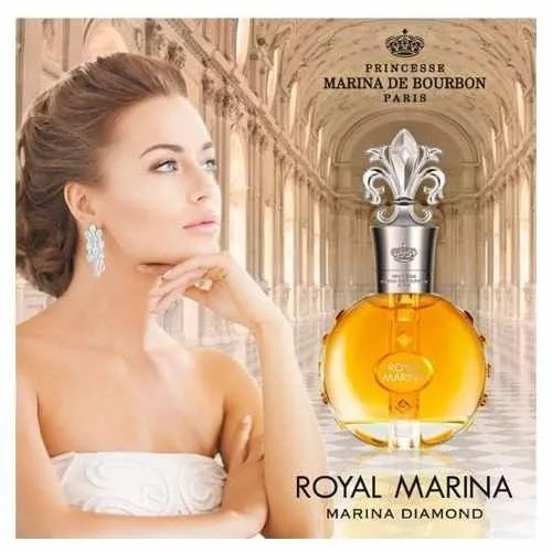 marina royal diamond decant amostra 5ml original frete r$7.9
