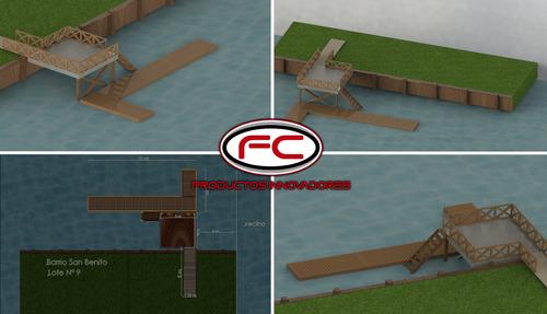marinas y muelles flotantes. construcción y asesoramiento