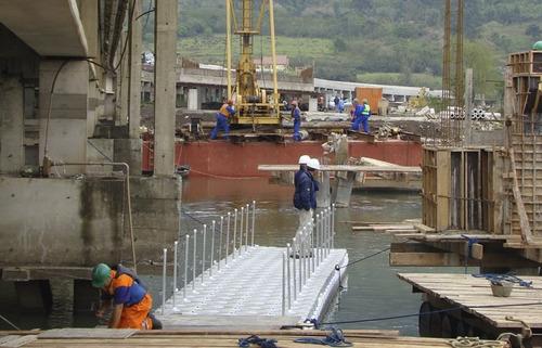 marinas,muelles,plataformas,balsas,aquicultura,construcción