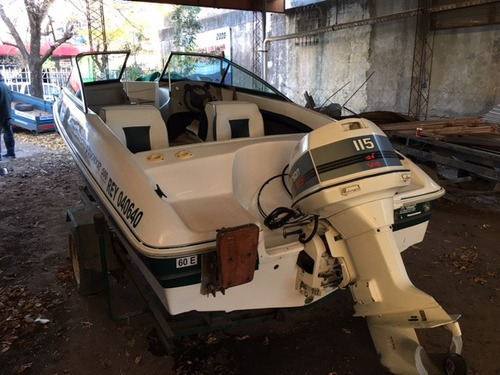 marine 500 con motor johnson 115 hp