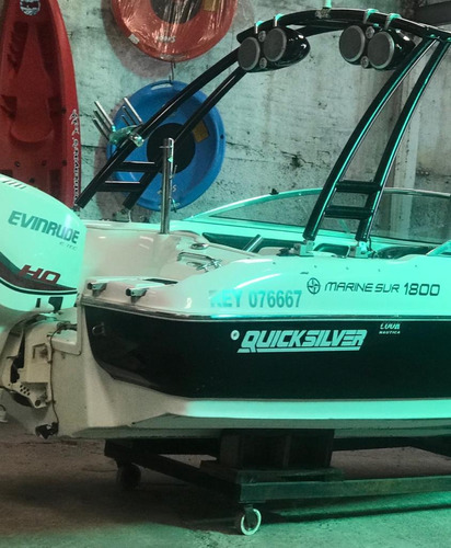 marine sur quicksilver 1800 con evinrude etec 135ho (2016)