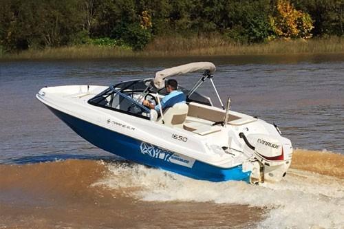 marine sur quicksivler 1650 con 90hp y trailer