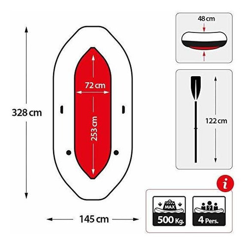 mariner 4 , bote inflable ,para mar , rio y laguna