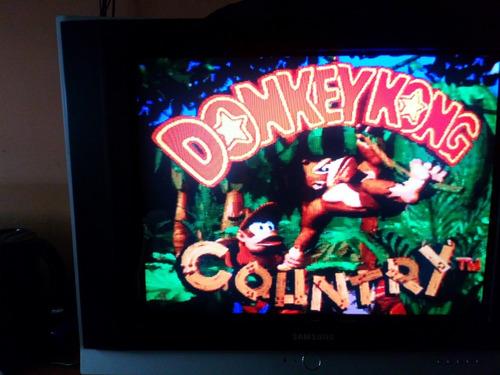 mario all stars + donkey kong country repros snes