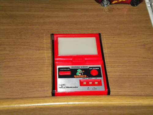 mario bombs away nintendo game & watch 1980 panorama screen