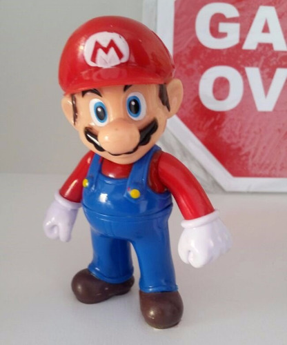 mario bros boneco action figure (nintendo)