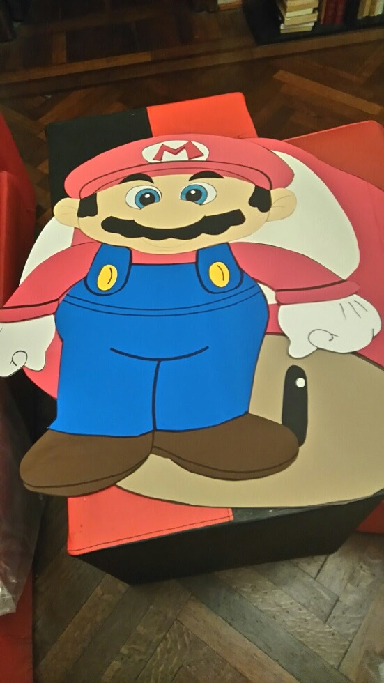 3f2102496 Mario Bross En Goma Eva - $ 175,00 en Mercado Libre
