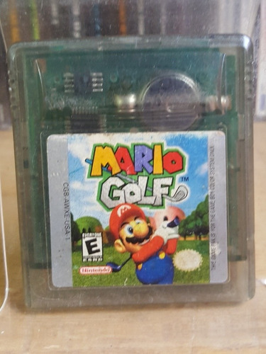 mario golf para gameboy color ¡super juego!