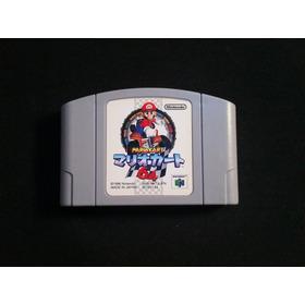 Mario Kart 64 Japonés Con Guía De Idioma