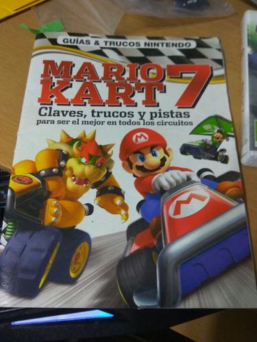 mario kart 7 3ds y guía oficial