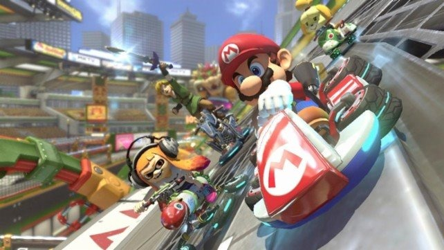 mario kart 8 deluxe nintendo switch 1 en mercado libre. Black Bedroom Furniture Sets. Home Design Ideas