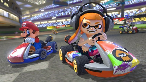 mario kart 8 deluxe nintendo switch - sellado