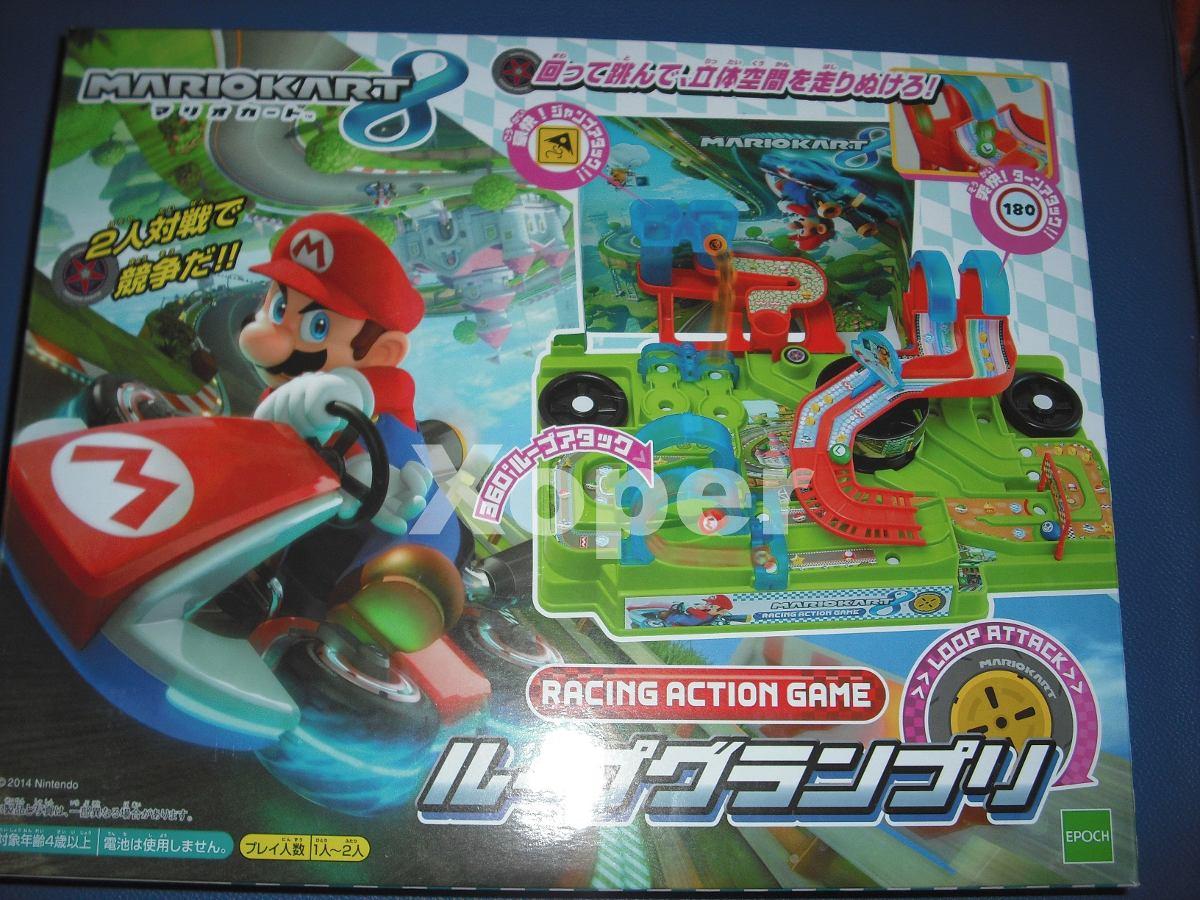 Mario Kart 8 Loop Grand Prix Juego De Mesa S 299 00 En Mercado