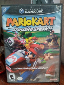 Mario Kart Double Dash Pará Gamecube (solo Estuche)