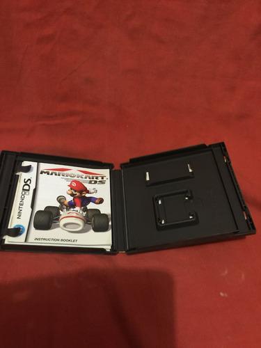 mario kart ds caja original con manuales