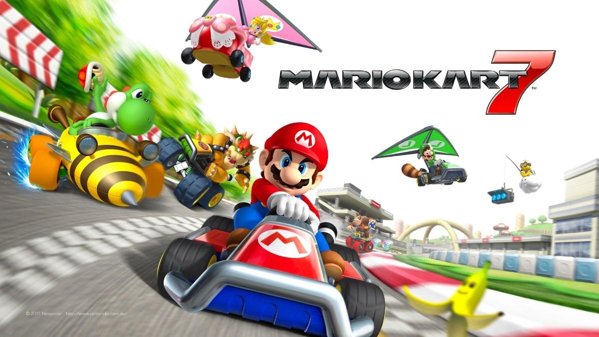 Mario Kart 7 Para Nintendo 3ds Entrega Inmediata