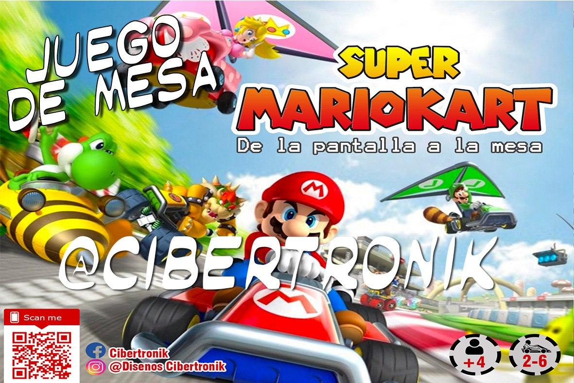 Mario Kart Pista De Carreras Juego De Mesa Monopoly Bs 500 00 En