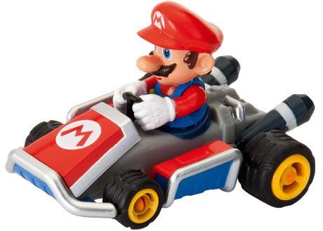 mario kart pull speed 7 juguete figura a tracción mario