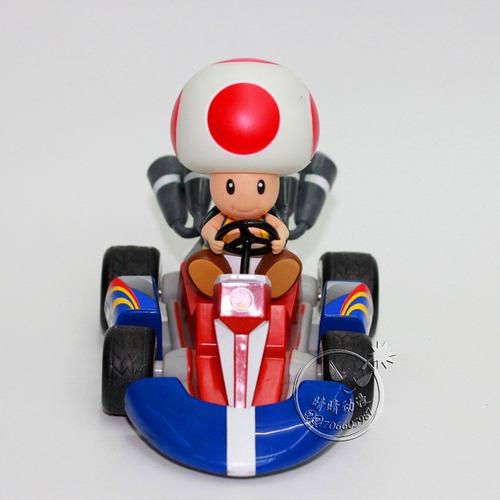 mario kart super mario bros figuras colección personajes