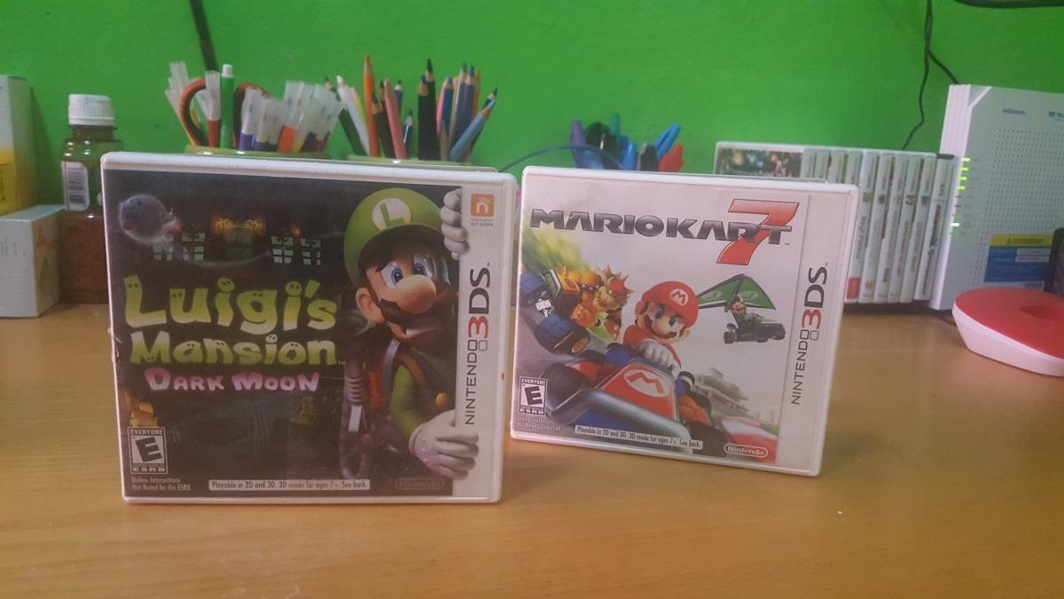 Mario Kart Y Luigi Juegos Nintendo 3ds Xl 700 00 En Mercado Libre