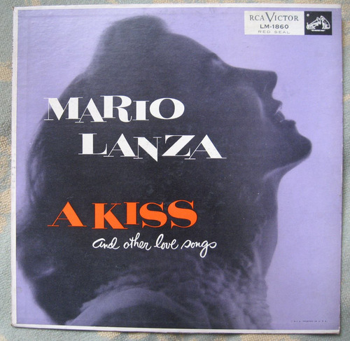 mario lanza - a kiss and other love songs (rcavictor lm-1860