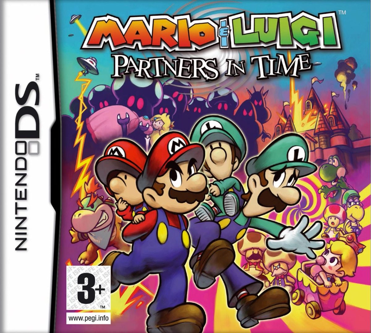 Mario Luigi Partners In Time Juego Nintendo Ds Lite 222 23 En