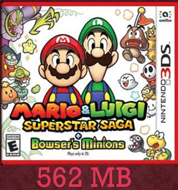 Mario Luigi Superstar Saga Bowser M Juegos Digitales 3ds Bs 8