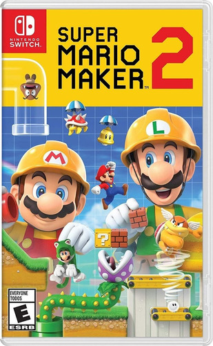 mario maker 2 switch americano - nuevos y sellados