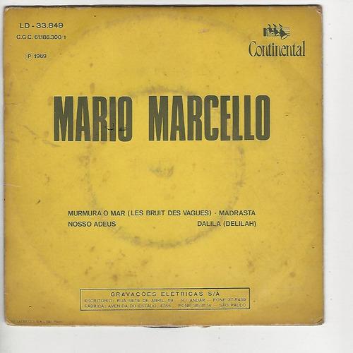 mario marcelo 1969 murmura o mar - promo - compacto - ep f6