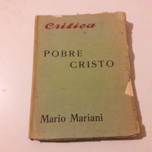 mario mariani - pobre cristo - crítica 1925