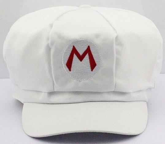 Chapéu Touca Boina Bordado Cosplay Mario Fogo - Mario Bros - R  34 ... c4b5f78c79f