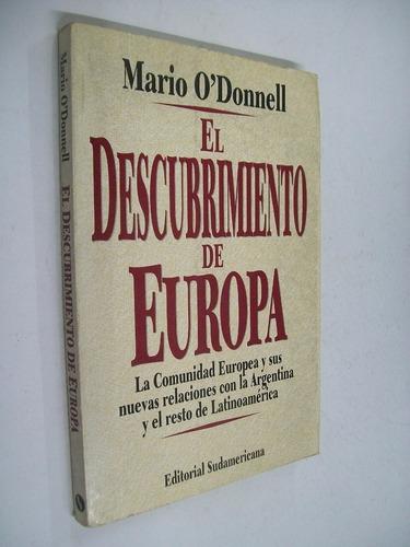 mario o' donnell el descubrimiento de europa