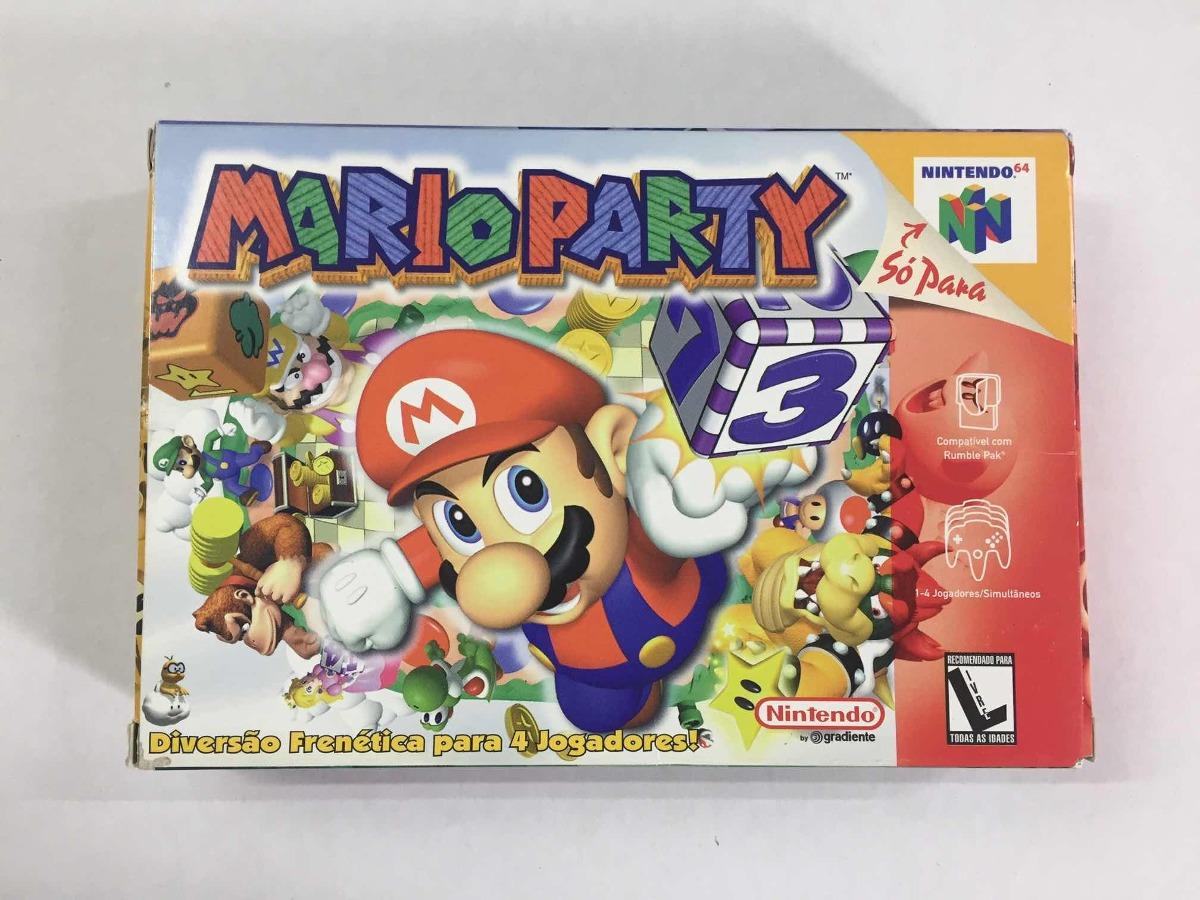 Mario Party 1 Original Nintendo 64 N64 Nacional