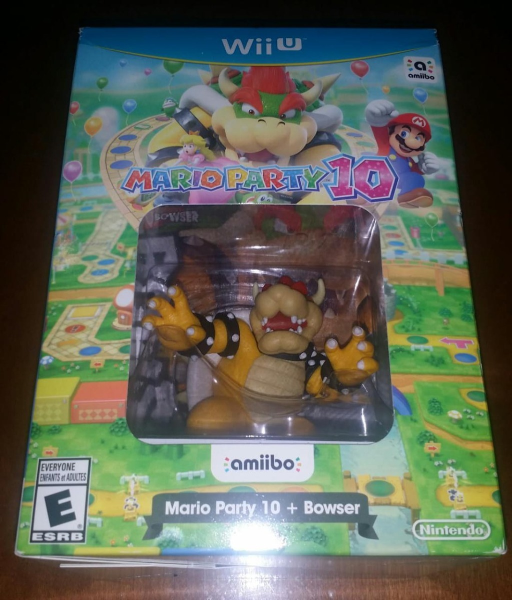 Mario Party 10 Bowser Amiibo Wii U Msi