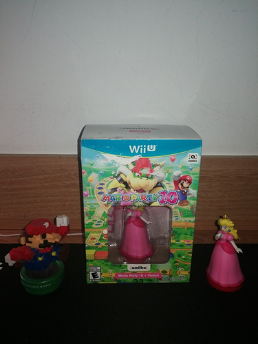 mario party 10 bundle amiibo peach