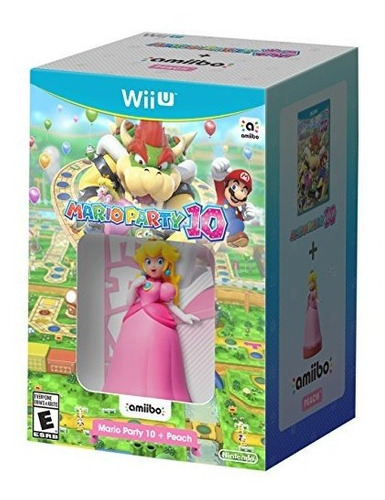 mario party 10 mas peach amiibo  wii u