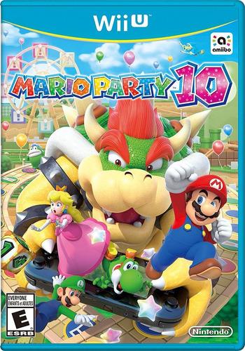 mario party 10 - nintendo wii u (físico) id