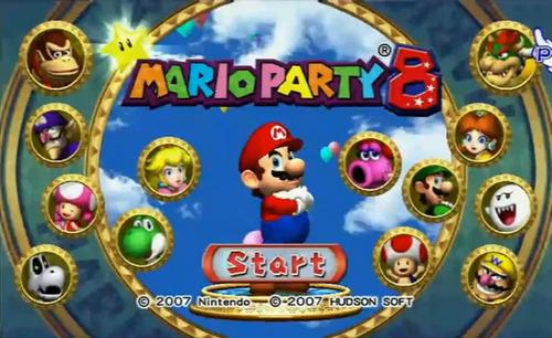 mario party 8 - wii - original - europeu