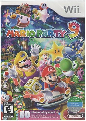mario party 9  world edition (nintendo wii)
