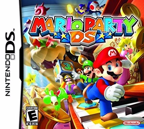 Mario Party Ds Cartucho Original Juego Nintendo Ds Lite 278